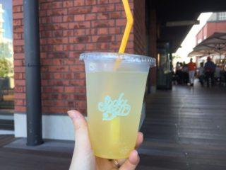 SODA BAR パイナップルソーダ